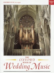 The Oxford Book of Wedding Music with pedals for organ - nuty na organy na uroczystości weselne