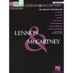 Pro Vocal Men's Edition Volume 25 - Lennon & McCartney Volume 4  - nuty na głos z tekstem i akordami gitarowymi (+ płyta CD)
