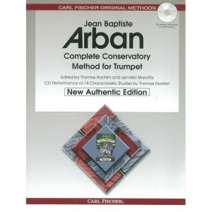 Arban - Complete Conservatory Method For Trumpet (+ płyta CD) - szkoła na trąbce