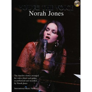 Norah Jones - You're The Voice (+ płyta CD) - nuty na fortepian, wokal i akordy gitarowe