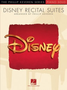 The Phillip Keveren Series: Piano Solo - Disney Recital Suites - nuty na fortepian