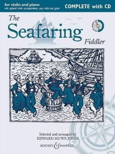 The Seafaring Fiddler - Huws Jones - nuty na skrzypce i fortepian (+ płyta CD)