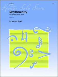 Murray Houllif: Rhythmicity - 10 Competition Solos For Timpani - nuty na kotły