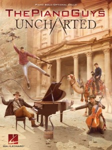 The Piano Guys: Uncharted - nuty na fortepian plus partia wiolonczeli