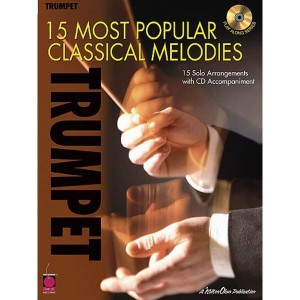 15 Most Popular Classical Melodies - Trumpet - nuty na trąbkę solo (+ płyta CD)