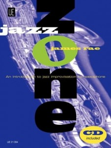 Rae: Jazz Zone. An Introduction to Jazz Improvisation for Saxophone - nauka improwizacji na saksofon (+ płyta CD)