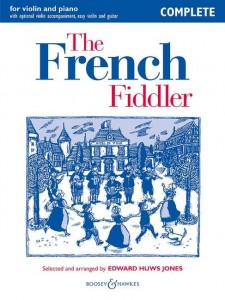 The French Fiddler - Huws Jones - nuty na skrzypce i fortepian
