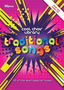 Cool Choir Library: Traditional Songs (+ płyta CD) - nuty na chór dwugłosowy i fortepian