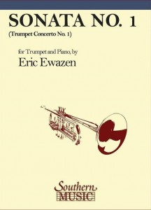 Eric Ewazen: Sonata No. 1 for Trumpet and Piano - nuty na trąbkę i fortepian
