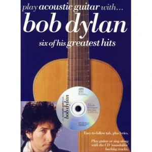 Play Acoustic Guitar with Bob Dylan - nuty na gitarę z tabulaturą (+ płyta CD)