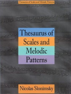 Slonimsky: Thesaurus Of Scales And Melodic Patterns - gamy i sekwencje na fortepian