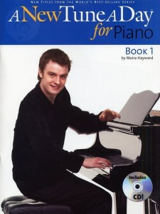 A New Tune A Day for Piano: Book 1 (+ płyta CD) - szkoła gry na pianinie
