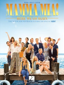 Mamma Mia! Here We Go Again: The Movie Soundtrack Featuring The Songs Of Abba - muzyka z filmu Mamma Mia na fortepian, głos i gitarę - księgarnia muzyczna Alenuty.pl
