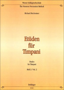 Richard Hochrainer: Etudes for Timpani 2 - nuty na kotły