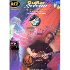 Guitar Soloing The Contemporary Guide To Improvisation - Gilbert, Marlis - nuty i tabulatury na gitarę elektryczną (+ płyta CD)