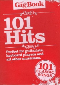 The Gig Book: 101 Hits - śpiewnik gitarowy, nuty na keyboard