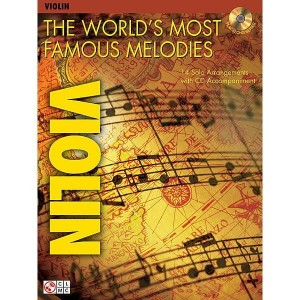 The World's Most Famous Melodies: Violin (+ płyta CD) - nuty na skrzypce