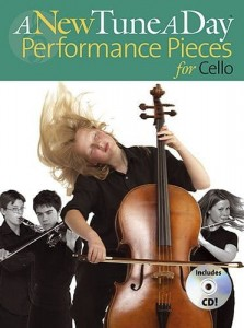 A New Tune A Day: Performance Pieces for Cello - nuty na wiolonczelę (+ płyta CD)
