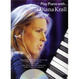 Play Piano with Diana Krall - nuty na fortepian (+ płyta CD)