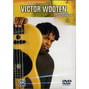 Victor Wooten Super Bass Solo Technique - szkoła gry na basie (DVD)