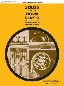 Solos for the Horn Player - Jones (+ audio onlline) - nuty na róg (waltornię) z fortepianem