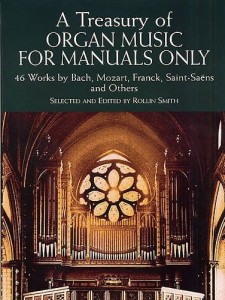 A Treasury Of Organ Music For Manuals Only - nuty na organy - Rollin Smith - księgarnia muzyczna Alenuty.pl