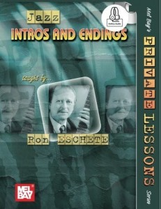 Jazz: Intros and Endings (+ audio online) - Ron Eschete - nuty na gitarę