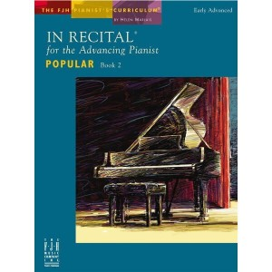 In Recital for the Advancing Pianist: Popular 2 - nuty na fortepian - Helen Marlais - księgarnia muzyczna Alenuty.pl