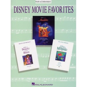 Disney Movie Favorites: Piano Accompaniment For Flute, Clarinet, Alto Sax, Trumpet And Trombone - akompaniament fortepianowy