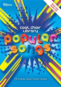 Cool Choir Library: Popular Songs (+ płyta CD) - nuty na chór dwugłosowy i fortepian