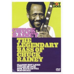 Hot Licks - The Legendary Bass of Chuck Rainey - szkoła gry na gitarze basowej (DVD)
