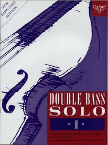 Hartley: Double Bass Solo 1 - nuty na kontrabas solo