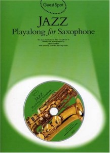 Guest Spot: Jazz Playalong for Saxophone - nuty na saksofon altowy (+ płyta CD)