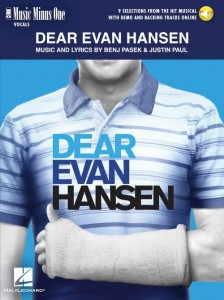 Dear Evan Hansen - 9 Selections from the Hit Musical (+ audio online) - piosenki z musicalu Drogi Evan Hansen - nuty na głos z fortepianem