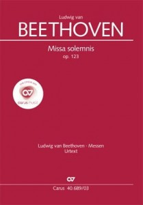 Beethoven: Missa Solemnis D-dur op. 123 - wyciąg fortepianowy
