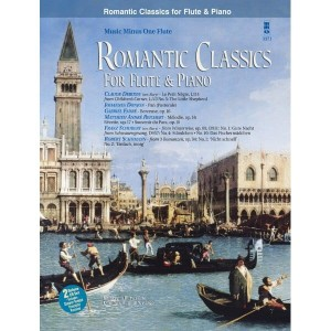 Romantic Classics for Flute and Piano (+ 2 płyty CD) - nuty na flet z fortepianem