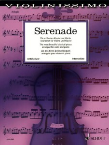 Violinissimo: Serenade - The most beautiful classical works arranged for violin and piano - nuty na skrzypce i fortepian - księgarnia muzyczna Alenuty.pl