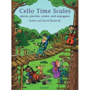 Cello Time Scales - gamy i pasaże na wiolonczelę