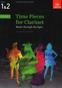 Time Pieces For Clarinet 1 - nuty na klarnet z fortepianem