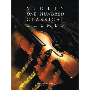 One Hundred Classical Themes For Violin - nuty na skrzypce