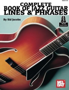 Complete Book of Jazz Guitar Lines & Phrases (+ audio online) - Jacobs - szkoła gry na gitarze