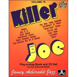 Jamey Aebersold Jazz Volume 070 Killer Joe (+ płyta CD)