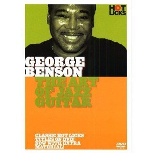 Hot Licks - George Benson - The Art of Jazz Guitar - szkoła gry na gitarze (DVD)