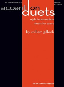 William Gillock: Accent On Duets - nuty na fortepian na cztery ręce