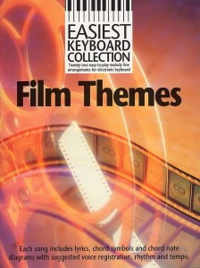 Easiest Keyboard Collection: Film Themes - nuty w łatwym opracowaniu na keyboard