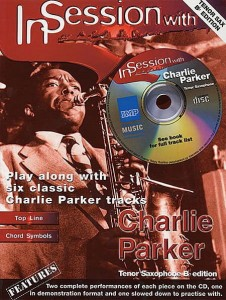 In Session with Charlie Parker Edycja Bb - nuty na saksofon tenorowy (+ płyta CD)