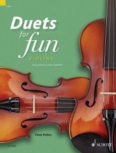Duets for fun: Violins - łatwe duety skrzypcowe