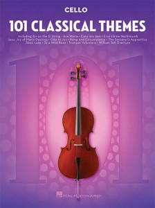 101 Classical Themes: Cello - nuty na wiolonczelę