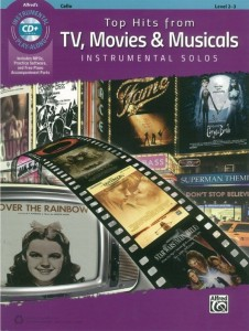 Top Hits From TV, Movies & Musicals - Cello (+ płyta CD) - nuty na wiolonczelę z fortepianem