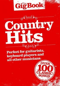 The Gig Book: Country Hits - śpiewnik gitarowy, nuty na keyboard